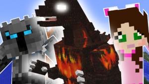 Minecraft - BURNING GODZILLA MISSION!