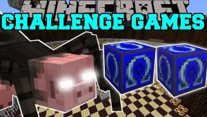 Minecraft - MUTANT SPIDER CHALLENGE GAMES - Lucky Block Mod