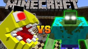 Minecraft - PACMAN VS MUTANT ZOMBIE