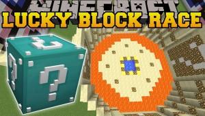 Minecraft - ULTIMATE DIAMOND LUCKY BLOCK RACE