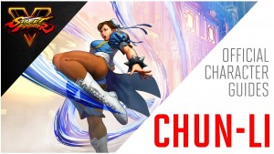 SFV - Chun-Li Official Character Guide