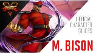 SFV - M Bison Official Character Guide