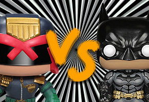 Judge Dredd VS Batman