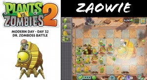 Plants vs Zombies 2 Modern Day level 32